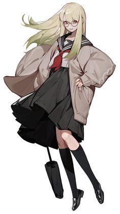 Anime Girl Drawings, Anime Artwork, Anime Art Girl, Pretty Art, Cute Art, Estilo Anime, Character Design Inspiration, Character Design Girl, Art Reference Poses