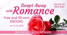 Fall in love all over again! Download these ebooks directly from your favorite retailers. All books are a steal at FREE or 99 CENTS! And don't forget to sign up to win $50! We know you'll find new books and authors to love.