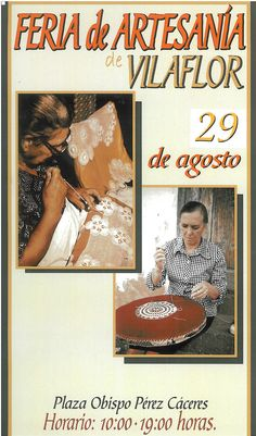 El sábado 29 de agosto, Feria de Artesanía Vilaflor de Chasna 2015 de 10.00 a 19.00 horas.