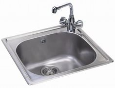small kitchen sinks how to make cabinet doors from plywood 13 best kitchens for spacesl images space carron phoenix square sink with tap hole pacific 50