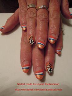 Voetbal nagels