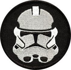 Star Wars Clone Trooper Logo Embroidered Iron On Applique Patch on Etsy, $6.84 CAD