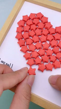 Paper Heart Crafts | Origami Puffy Heart | 3D Paper Heart | 29 DIY Valentine's Day Decorations
