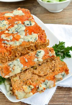 Gorgonzola cheese and hot sauce give plain meatloaf a giant jolt of flavor.