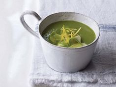 Awesome Avocado Mint Soup from the Organic Avenue Cookbook