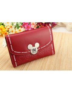 """a wallet is just a """"minnie"""" purse or in this case a mickey purse :) hee..."""