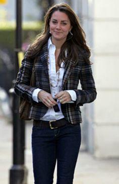 Kate Middleton in Plaid FashionVogueMagz : VogueMagz