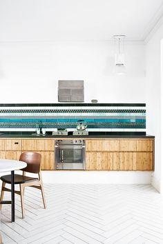 I love those tiles. (: