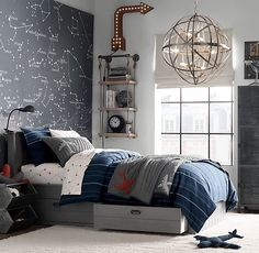 With traditional aesthetics and simpel particulars,who else can never get sufficient of some good 30 Cool Teenage Boy Room Decor Ideas for A Hard to Please Boy ?Hold scrolling for some severe interior inspo! Proceed to read. Boys Bedroom Decor, Trendy Bedroom, Gray Bedroom, Boys Space Bedroom, Modern Bedroom, Boys Bedroom Paint, Boys Bedroom Furniture, Kids Furniture, Teen Boys Room Decor
