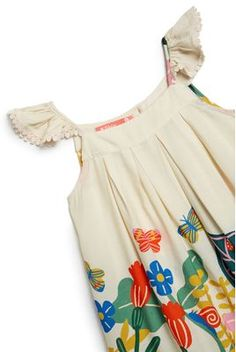 Meninas: Vestidos, Blusas, Macacão e Mais | Fábula Girls Fashion Clothes, Teen Fashion Outfits, Kids Outfits, Kids Fashion, Little Girl Dresses, Girls Dresses, Summer Dresses, Nightgown Pattern, Dress Anak