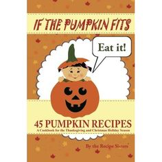 This isn't exactly a healthy recipe book--in fact, some of the recipes are downright decadent...and there are no pictures inside. What it does have is a great selection of pumpkin related recipes, nicely laid out. So whether you're hungry for pumpkin pie, pumpkin cake, pumpkin muffins, pumpkin soup, pumpkin soup, roasted pumpkin seeds, pumpkin latte, or pumpkin enchilada, this handy little book seems like a great place to start! Just ordered my copy from Amazon.com so I can get started…
