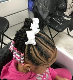Awesome Kids Hairstyles You Have To Try Out On Your Kids 01 - natural hair styles - Kids Style Lil Girl Hairstyles, Natural Hairstyles For Kids, Kids Braided Hairstyles, Short Hairstyles, Teenage Hairstyles, Hairstyles 2016, Short Haircut, African Kids Hairstyles, Famous Hairstyles