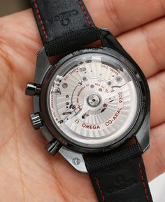 Omega Speedmaster Co-Axial Chronograph Dark Side Of The Moon Black Ceramic