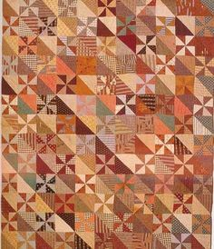 Pieced Quilt, 1865. Campbell Co, Virginia.