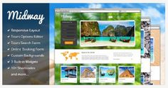 12 Beautiful WordPress Theme For Travel Websites