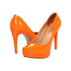 Gabriella Rocha Jacques High Heels - Neon Orange
