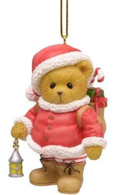 Cherished Teddies Santa Claus Lives Within Us All Ornament
