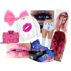 """""""Pink Kisses"""" by jacolacook on Polyvore"""