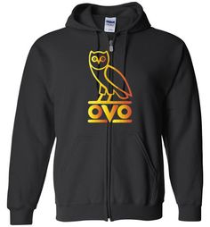 nice Ovo Rapper Bird OWL Unisex Zip Hoodie Check more at https://crazeline.com/product/ovo-rapper-bird-owl-zip-hoodie-shirt/