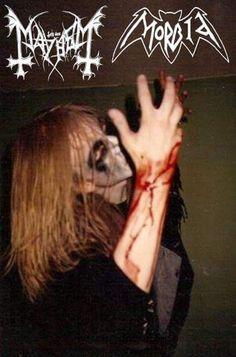Per Yngve Ohlin Mayhem Death Metal, Mayhem Band, Fallen Souls, Chaos Lord, All Band, Black Death, Thrash Metal, Guys, Demons