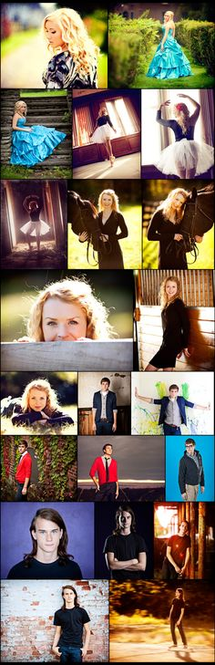 Senior poses.. Check link for tons more ideas