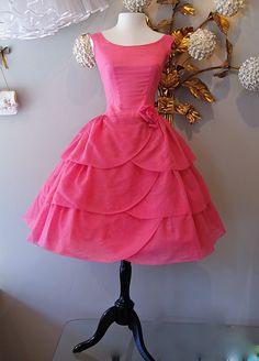 1960's cupcake dress
