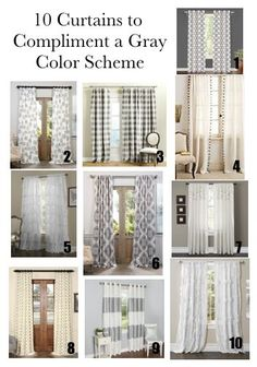 Curtains To Compliment A Gray Color Scheme Farmhouse Striped Buffalo Checked
