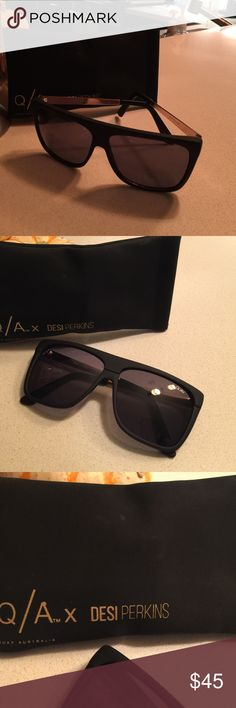 ❗️LAST WEEK 4 SALE❗️Quay x DESI On The Low ❗️ROCK BOTTOM PRICE❗️                                    ❗️FINAL PRICE REDUCTION❗️                       Going to a family member as a gift this week if not sold before than.                                                BRAND NEW CONDITION                                       WORN ONCE OR TWICE FOR A SHORT TIME.     YOU WILL NOT FIND THESE CHEAPER NEW OR USED. Quay Australia Accessories Sunglasses