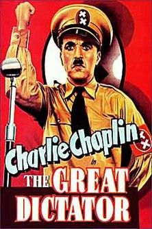 Directed by Charles Chaplin. With Charles Chaplin, Paulette Goddard, Jack Oakie, Reginald Gardiner. Dictator Adenoid Hynkel tries to expand his empire while a poor Jewish barber tries to avoid persecution from Hynkel's regime. Famous Movies, Top Movies, Great Movies, Movies To Watch, Charlie Chaplin, Paulette Goddard, Film Movie, O Grande Ditador, Cinema Posters