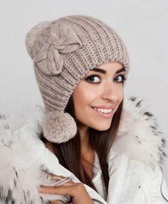 шапка ушанка вязаная женская: 25 тыс изображений найдено в Яндекс.Картинках