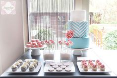 Spring Dessert Table by SugarlipsCake