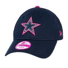 6d41ea771 Dallas Cowboys BCA Womens 9Forty Hat  BreastCancerAwareness  DallasCowboys  Dallas Cowboys Game