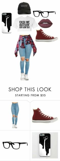 """""""cash me outside how bout dah"""" by jaiyvore featuring Converse, Bobbi Brown Cosmetics and Lime Crime Teen Girl Outfits, Teen Fashion Outfits, Outfits For Teens, Trendy Outfits, Summer Outfits, Womens Fashion, Teen Party Outfits, Grunge Outfits, Summer Dresses"""