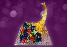 Коллекция искушений, Торт Рог Изобилия, торт на юбилей, торт на день рождения, торт на праздник #cake #authorcake #купитьторт #тортназаказ #тортнаюбилей #тортмосква #торт