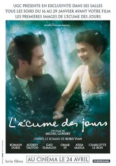 Mood Indigo (aka L'écume des jours) Movie Poster / Affiche - Internet Movie Poster Awards Gallery