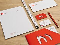 logo, Letter head, envelope, booklet, pencil... etc... Maison Nordique