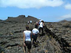 Ascenso Crater Montaña del Julan