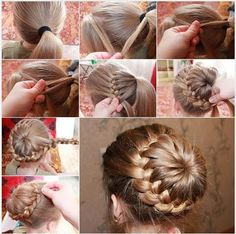 beautiful braids tons