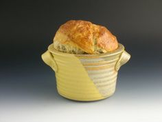 6 inches wide by 4 inches tall . one pound loaf. Make this for Russian Easter Bread
