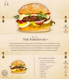 40 Of The Most Delicious-Looking Cheese Burger Combinations Ever - UltraLinx Burger Menu, Gourmet Burgers, Burger Bar, Burger Recipes, Beef Recipes, Cheese Burger, Cooking Recipes, Junk Food, Burger Dogs