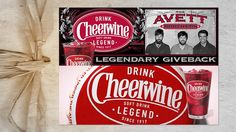 Cheerwine • Born in the South. Created in 1917 in Salisbury, North Carolina by a general store owner named L.D. Peeler, this singular soft drink with a hint of wild cherry and a bubbly effervescence became an immediate hit. Folks from all around the county came to LD's store to give it a try.