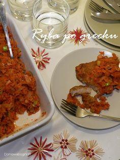 Świąteczna ryba po grecku