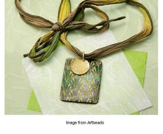 Lost in the Garden necklace design by Artbeads