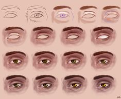 Eye step by st... How To Draw Realistic Mouth ...