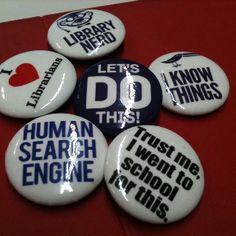 Library pins!