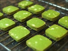 Sweets Recipes, Cooking Recipes, Matcha Cookies, Green Tea Ice Cream, Green Tea Recipes, Matcha Smoothie, Matcha Green Tea, Cookie Bars, Bakery