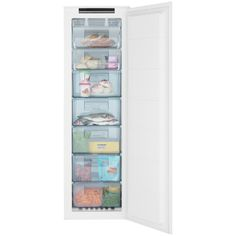 John Lewis JLBIFIC05 Tall Integrated No Frost Freezer, A+ Energy Rating, 54cm Wide