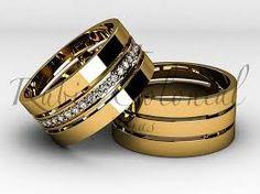 Resultado de imagem para alianças de casamento de ouro