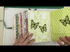 Final Mini Album Video Stampin Up Tutorial Beautiful Gift Completed Album! - YouTube