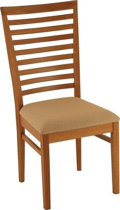 Amish Bellagio Dining Chair A little ladderback is mixed with modern in the Bellagio, a top seller at DutchCrafters Amish Furniture. You can customize this dining chair to match your decor perfectly.